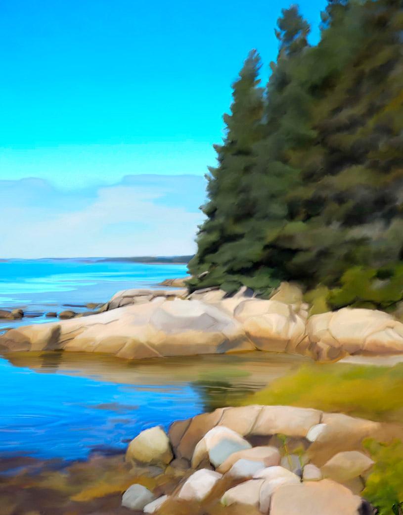 Maine Coast 1