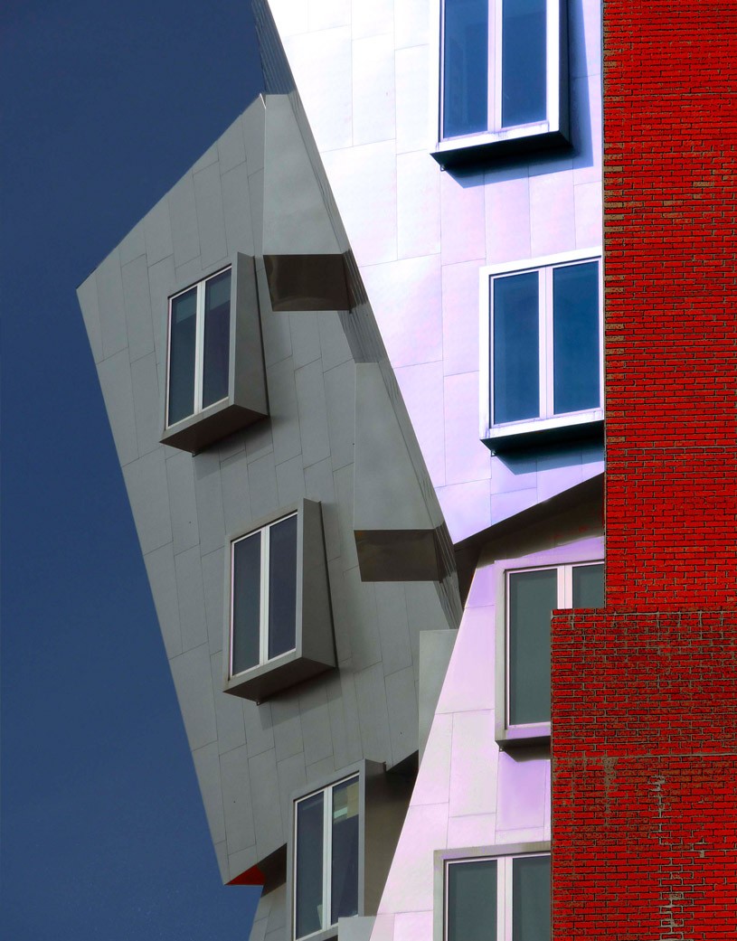 Red, White & Blue Gehry
