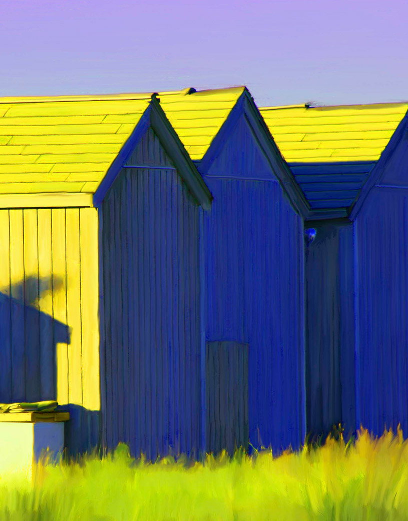 Yellow Barns