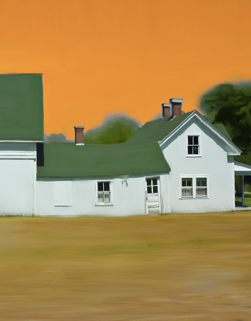 Maine Farmhouse